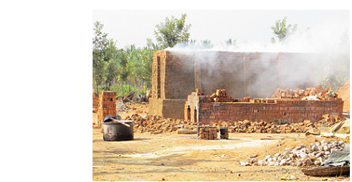 What Causes Dispersion in Revenue and Output across Firms? The Brick Industry in India